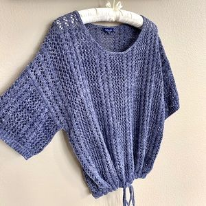 New Splendid Knox Crochet Sweater